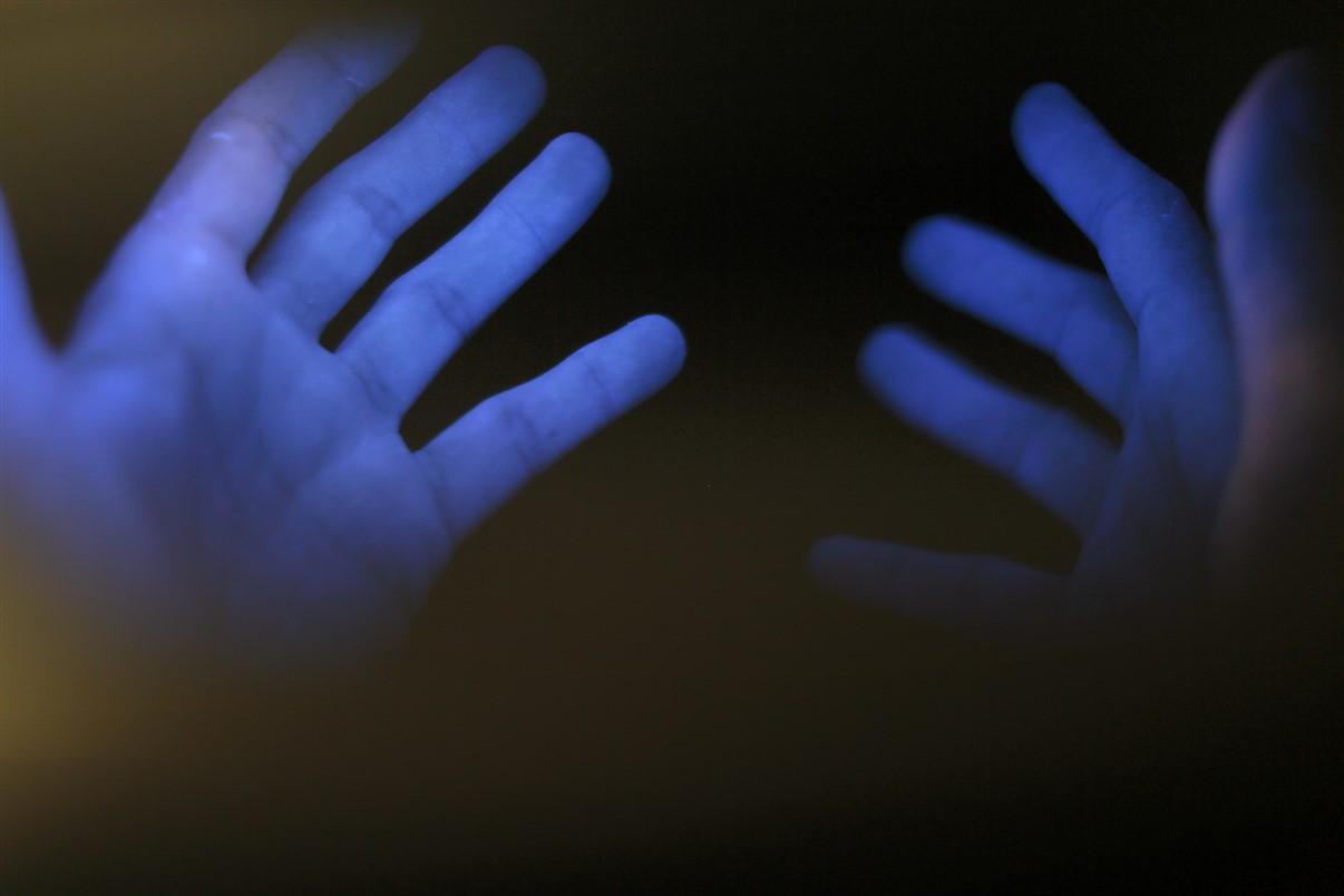 Lumière bleu