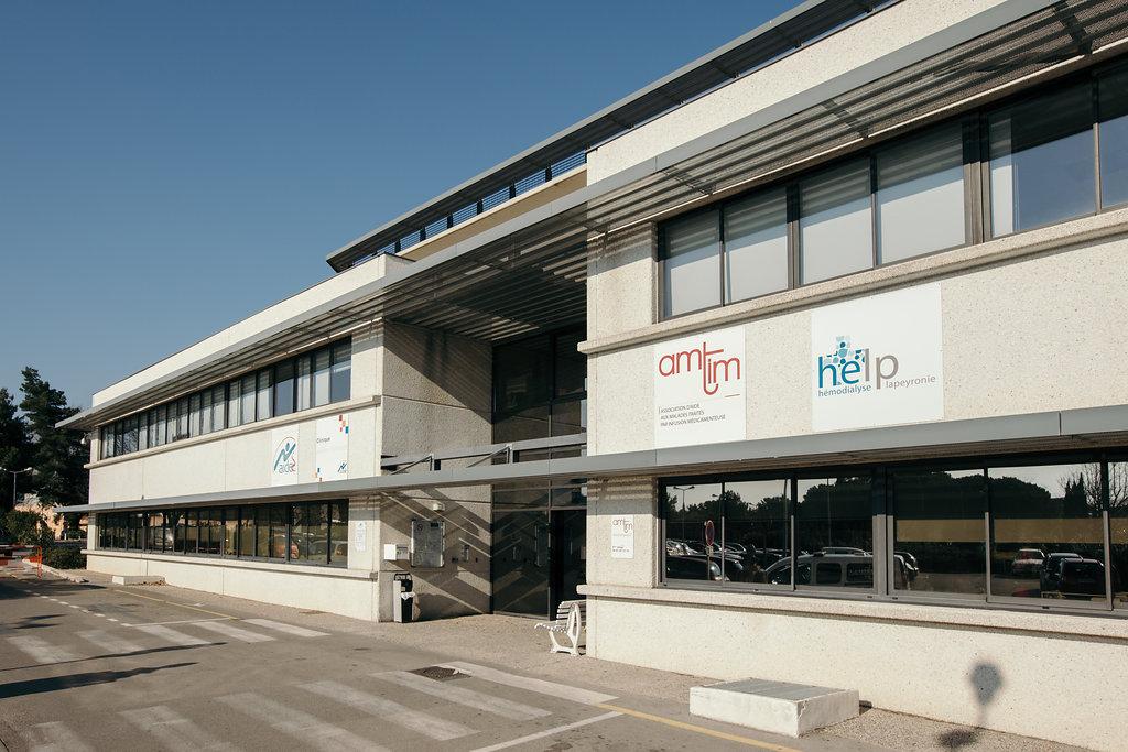 Visuel d'un bâtiment Aider Santé pour l'hémodialyse en unité