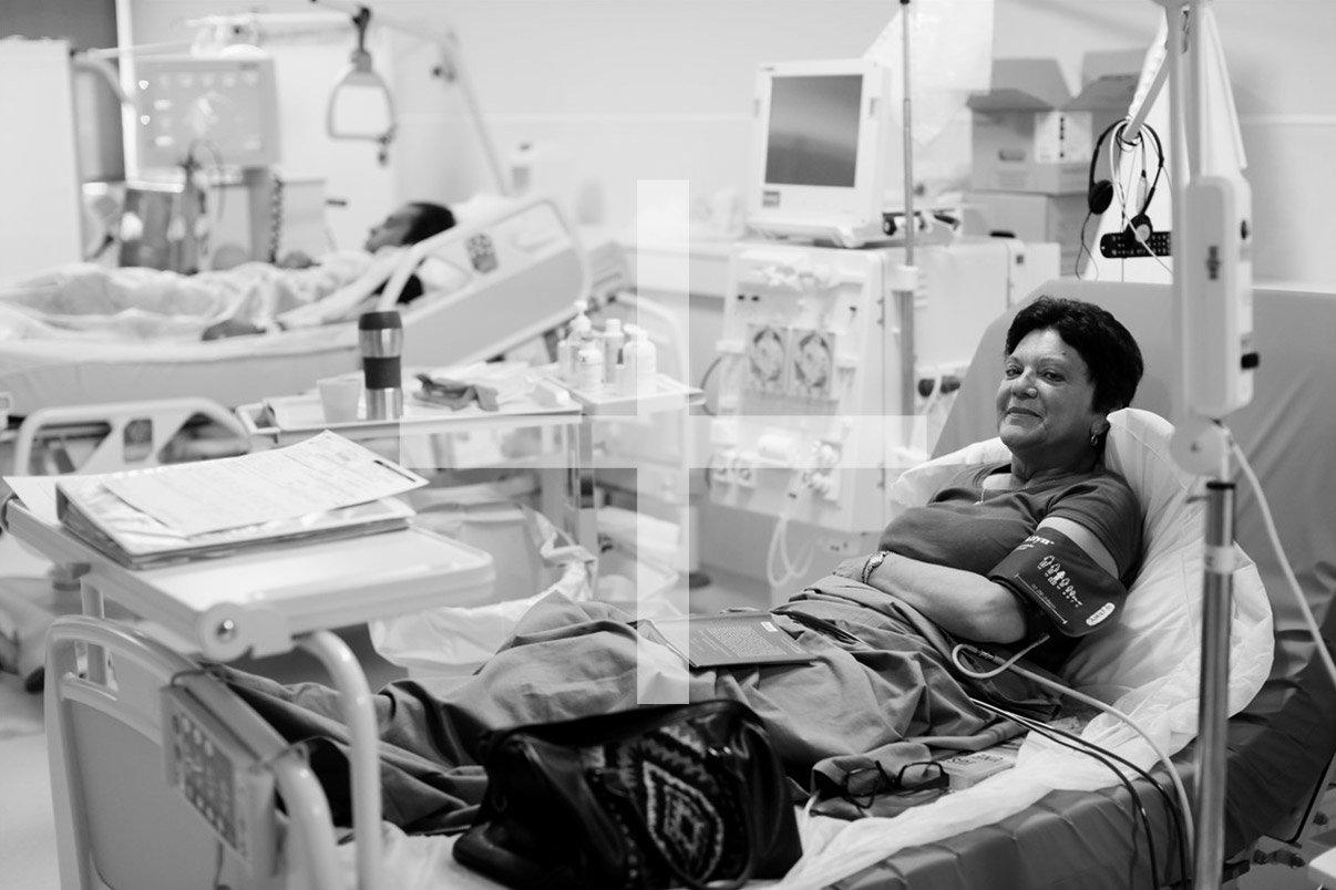 Visuel portfolio Hémodialyse en unité