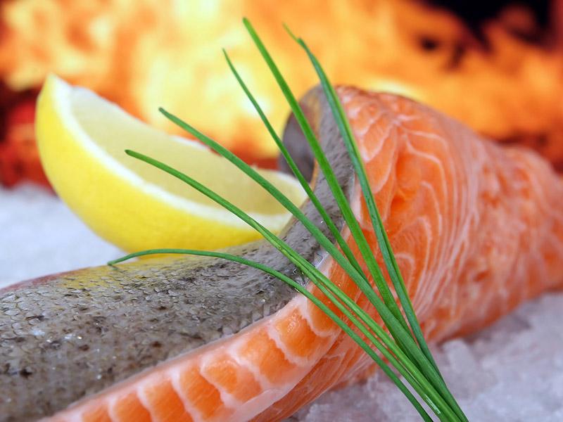 Visuel de recette de poisson à la ciboulette Aider Santé